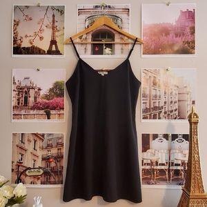 love, Fire Black Tank Dress